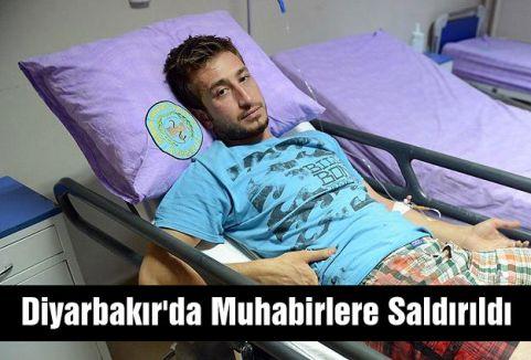 Diyarbakır'da Muhabirlere Saldırıldı