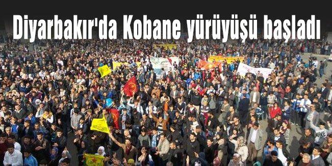 Diyarbakır'da Sözde Protesto yürüyüşü başladı
