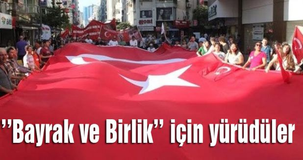 Diyarbakır'da Türk Bayrağının indirilmesine protesto