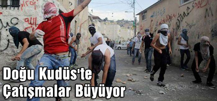 Doğu Kudüs'te Çatışmalar Büyüyor