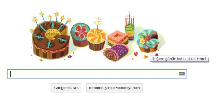 Doğum Günün Kutlu Olsun Google...