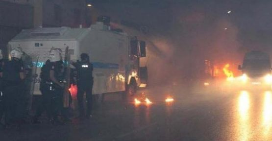 Dolapdere'de PKK Eylemi