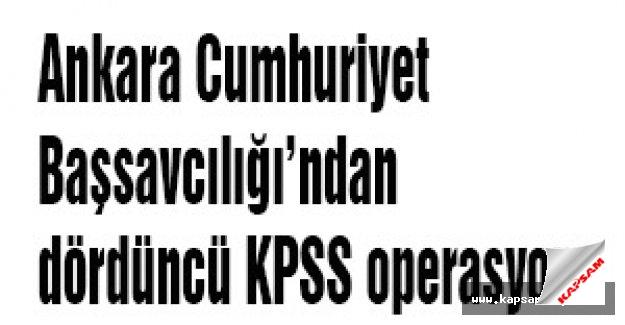 Dördüncü KPSS operasyonu