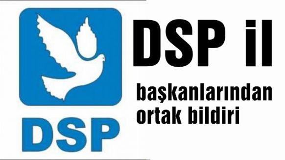 DSP ortak bildiri...