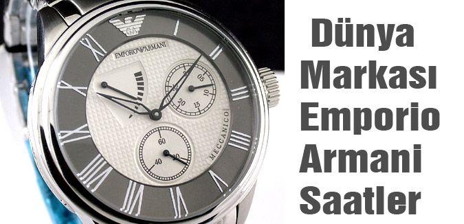 Dünya Markası Emporio Armani Saatler