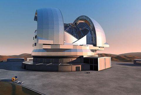 Dünyanın en büyük teleskobu...