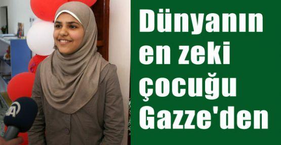 Dünyanın en zeki insanı Gazze'den
