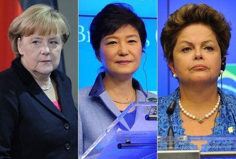 Dünyayı yöneten güçlü kadınlar...