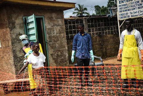 Ebola virüsü teşhisi konulan İngiliz ülkesine gönderildi