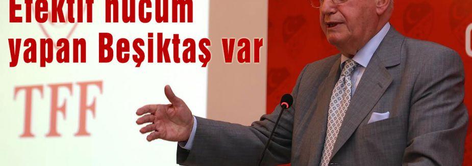 Efektif hücum yapan Beşiktaş var