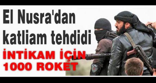 El Nusra'dan intikam!