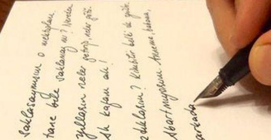 El Yazısı, Karakterin Aynası...