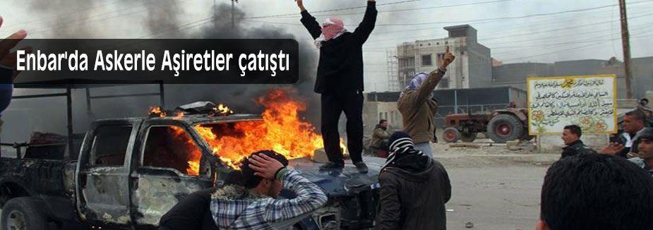 Enbar'da Askerle Aşiretler çatıştı