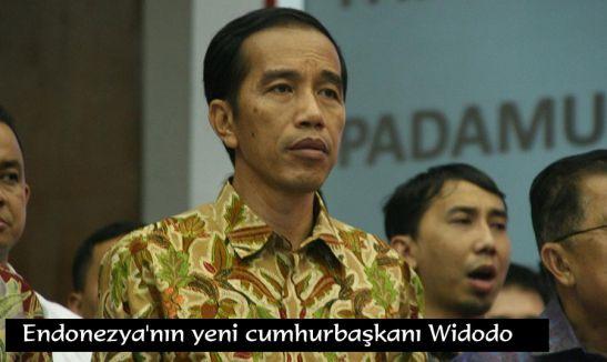 Endonezya'nın yeni cumhurbaşkanı Widodo