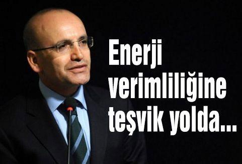 Enerji verimliliğine teşvik yolda...