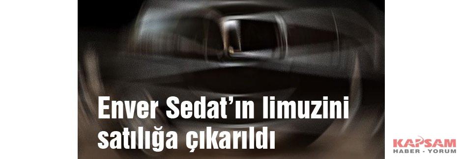 Enver Sedat'ın limuzini satılığa çıkarıldı