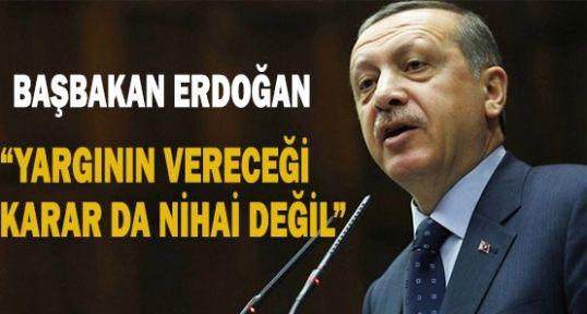Erdoğan'ın Ergenekon açıklaması