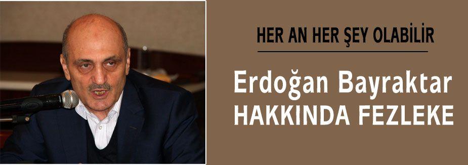 Erdoğan Bayraktar'a Fezleke ...