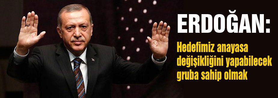 Erdoğan; Büyük Düşünlek Zorundayız