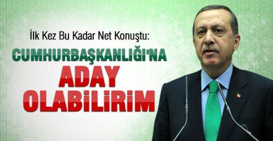 Erdoğan Cumhurbaşkanlığına Aday Olabilirim