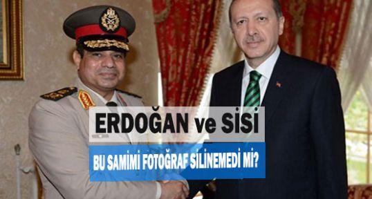 Erdoğan ile Sisi samimiyeti