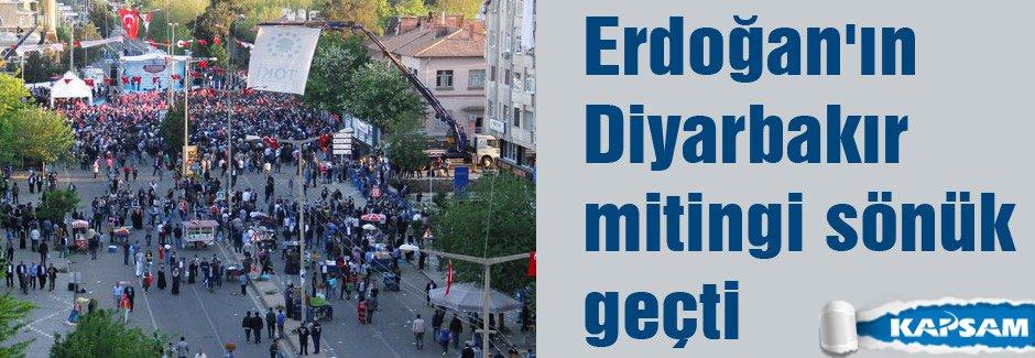 Erdoğan'ın Diyarbakır Mitingi Sönük Geçti