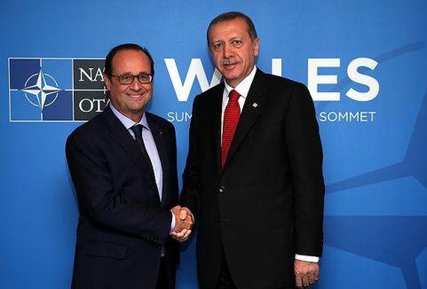 Erdoğan liderlerle görüştü