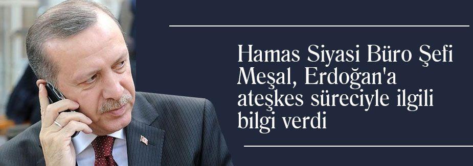 Erdoğan Meşal'le görüştü