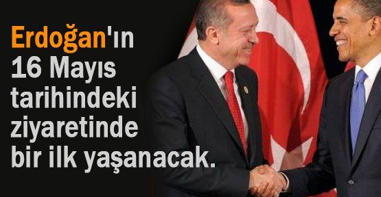 Erdoğan Obama Ziyaretinde bir ilk yaşanacak