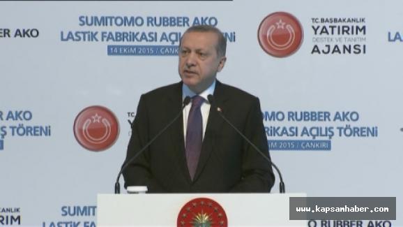 Erdoğan: Olaylardan şahsımı sorumlu tutanlar...