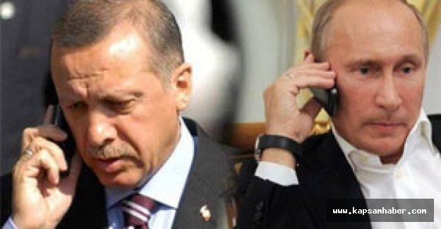 Erdoğan Putin'i aradı ve...