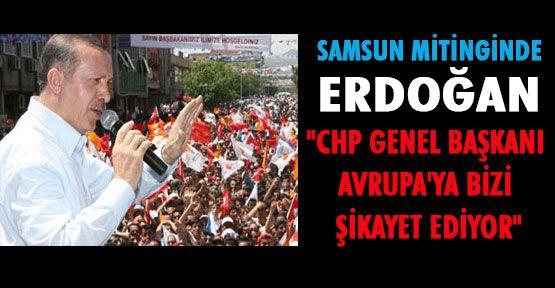 Erdoğan Samsun'da Halka Hitap Etti