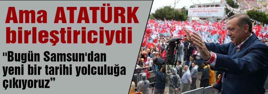 Erdoğan Samsun'da konuştu