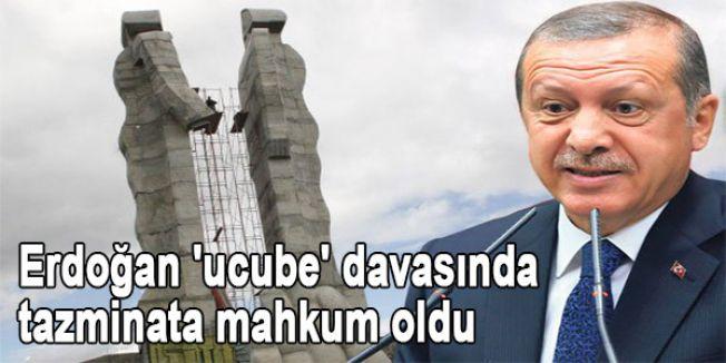 Erdoğan tazminata mahkum oldu