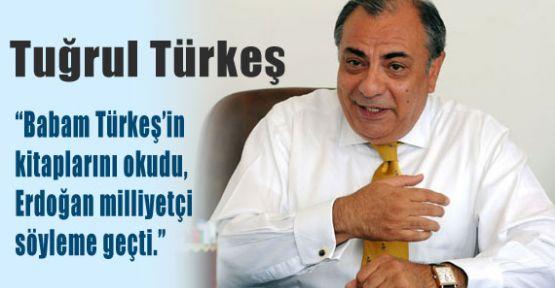 Erdoğan Türkeş gibi konuşuyor