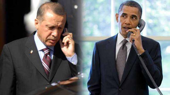 Erdoğan ve Obama'dan Kobani Yardımı...