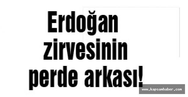 Erdoğan Zirvesinin perde arkası!