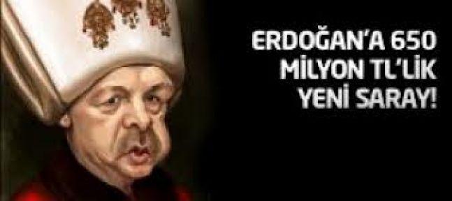 Erdoğan'a 650 milyon liralık yeni saray!