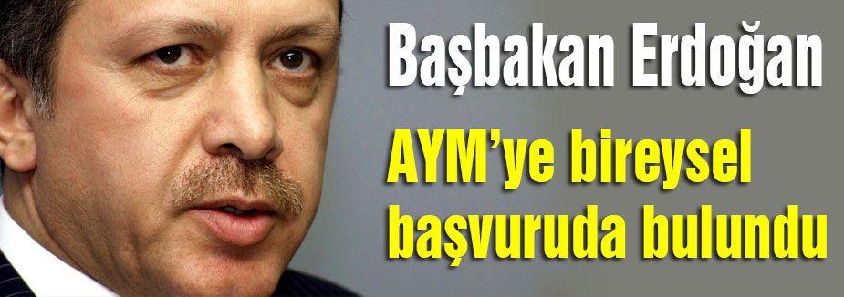 Erdoğan'dan AYM Başvurusu