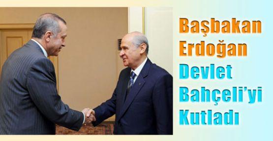 Erdoğan'dan Bahçeli'ye Kutlama