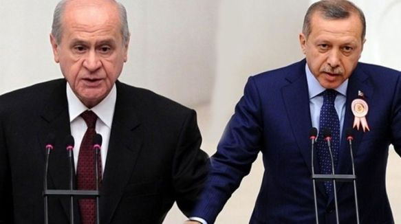 Erdoğan'dan Devlet Bahçeli'ye ağır sözler