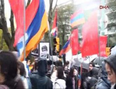 Ermenilerden Erdoğan'a Protesto