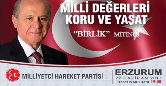 "Erzurum ""Birlik"" mitingi"""