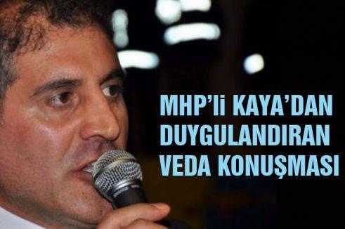 Erzurum İl Başkanı Kaya Duygulandırdı