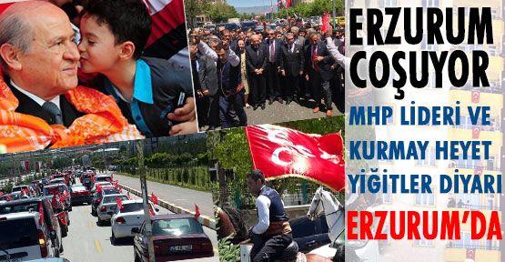 Erzurumda Birlik Türkiyede Dirlik
