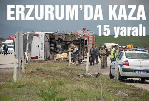Erzurum'da feci kaza...