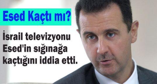 Esad Kaçtı mı?