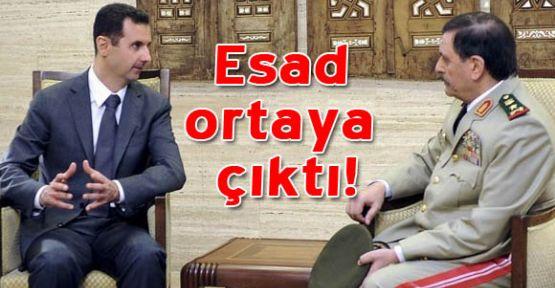 Esad ortaya çıktı!