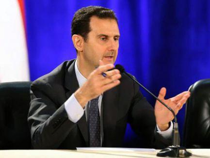 Esad zaferini ilan etti...