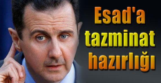 Esad'a Tazminat Şoku!
